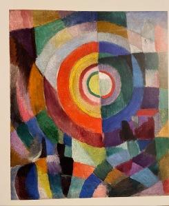 Sonia Delaunay. Prismas eléctricos.19014.Colección del Centro Pompidou. París