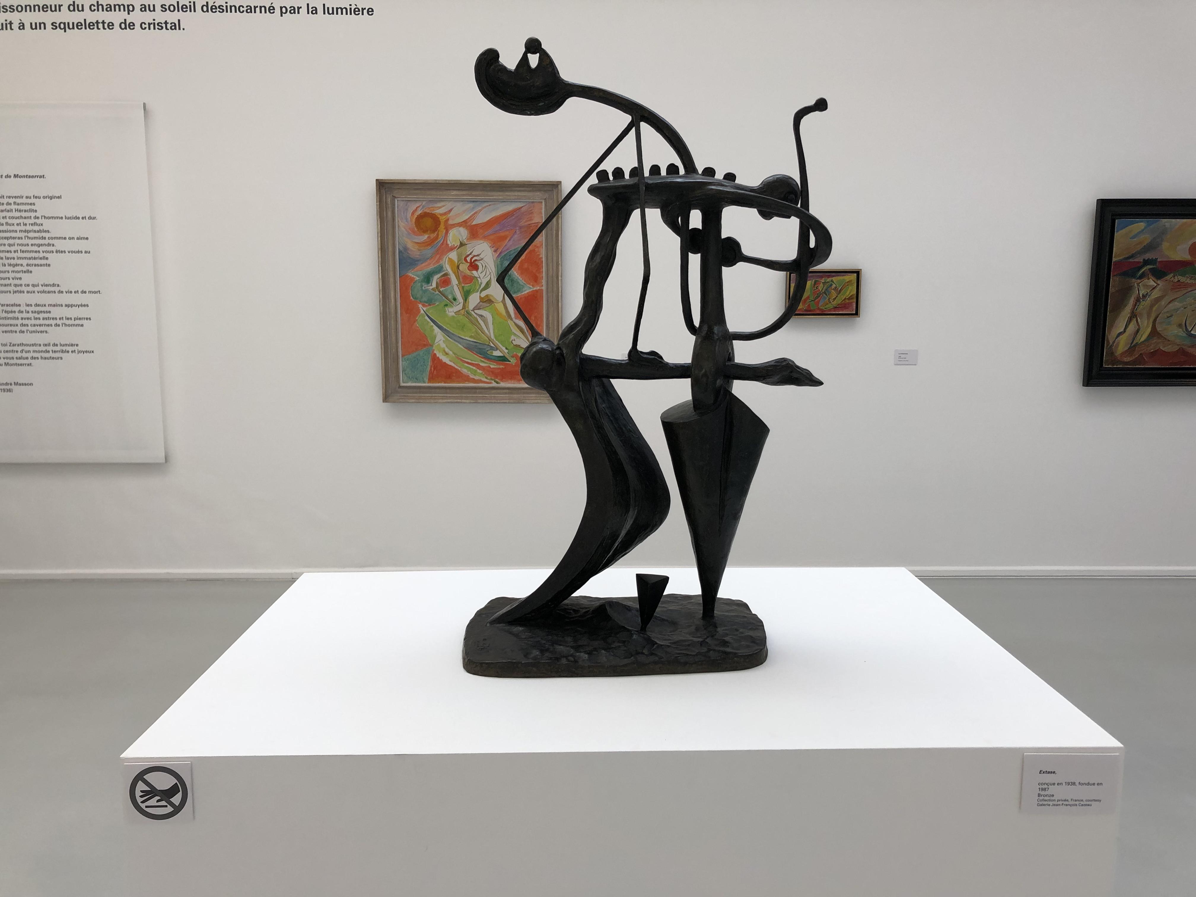 A. Masson. Extase. 1938, fondue  1987