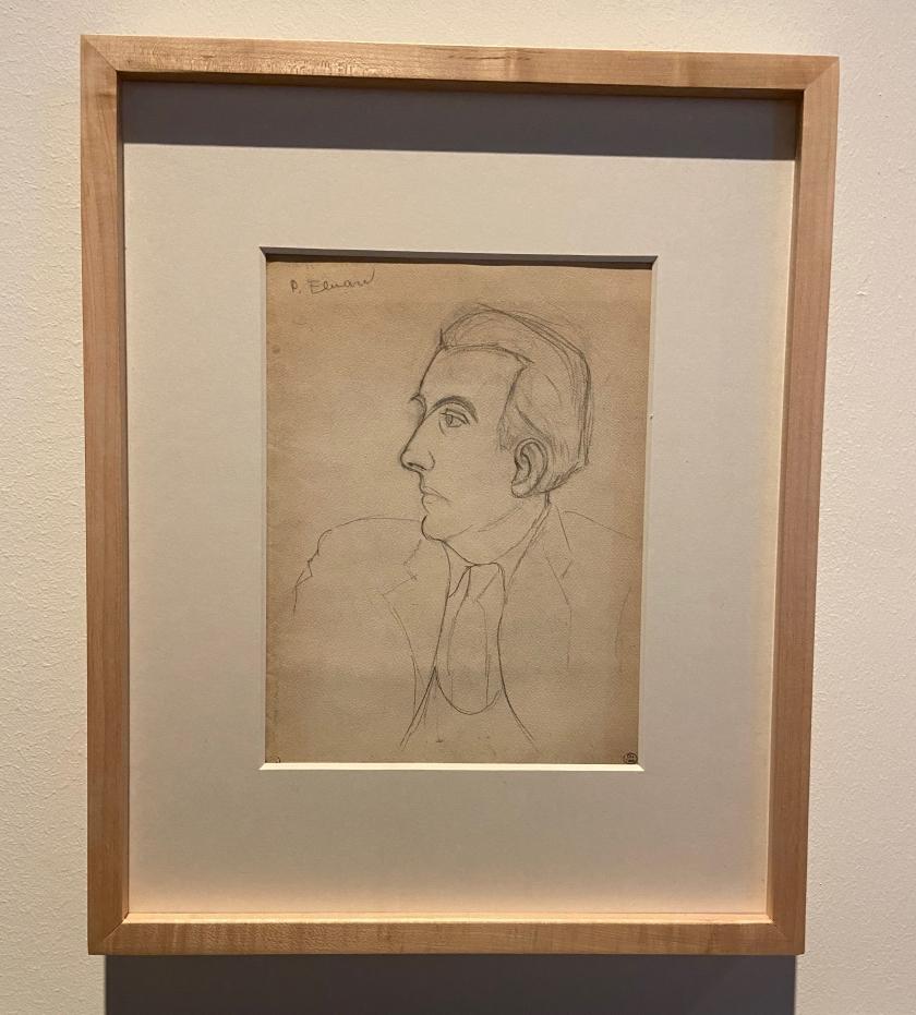 Dora Maar. Retrat de Paul Eluard. s.d. Bibliothèque Emmanuel Boussard, París