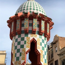 Casa Vicems. Antonio Gaudi. Terrat