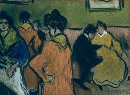 Casagemas. Casa de cites. c.1900. MNAC
