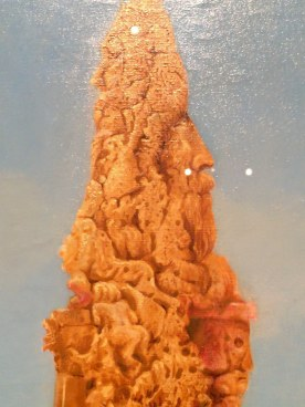 Detall Arbol solitario i árboles conjugales. 1940. Museu Thyssen-Bornemisza
