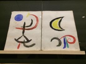 Arxiu Fundació Miró. Full de repòs À toute épreuve