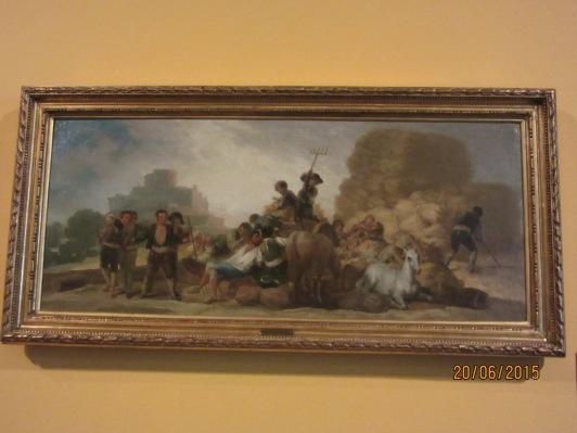 La era o el verano. Goya