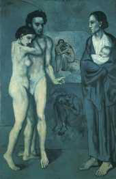 Picasso. La Vida. 1903. Cleveland Museum of Art