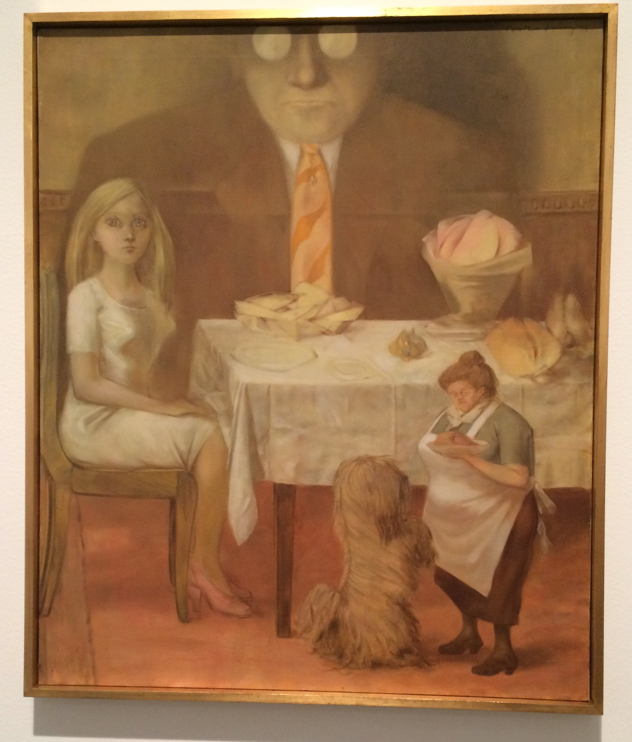 Dorothea Tanning. Retrat de familia. 1954