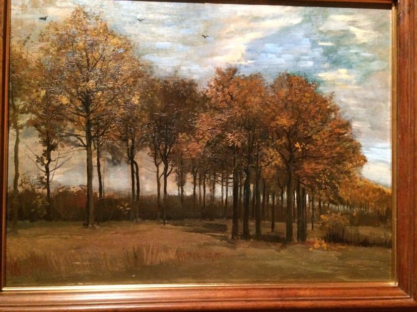 Vincent Van Gogh. The Autumn landscape. 1985