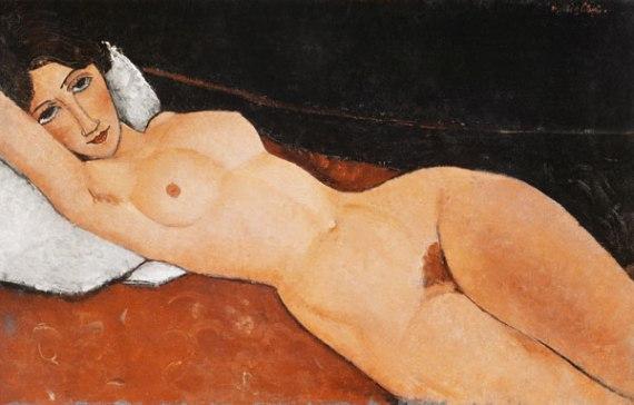 Modigliani. Desnuda