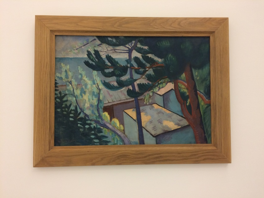 A. Masson. Paysage à Colliure. 1919