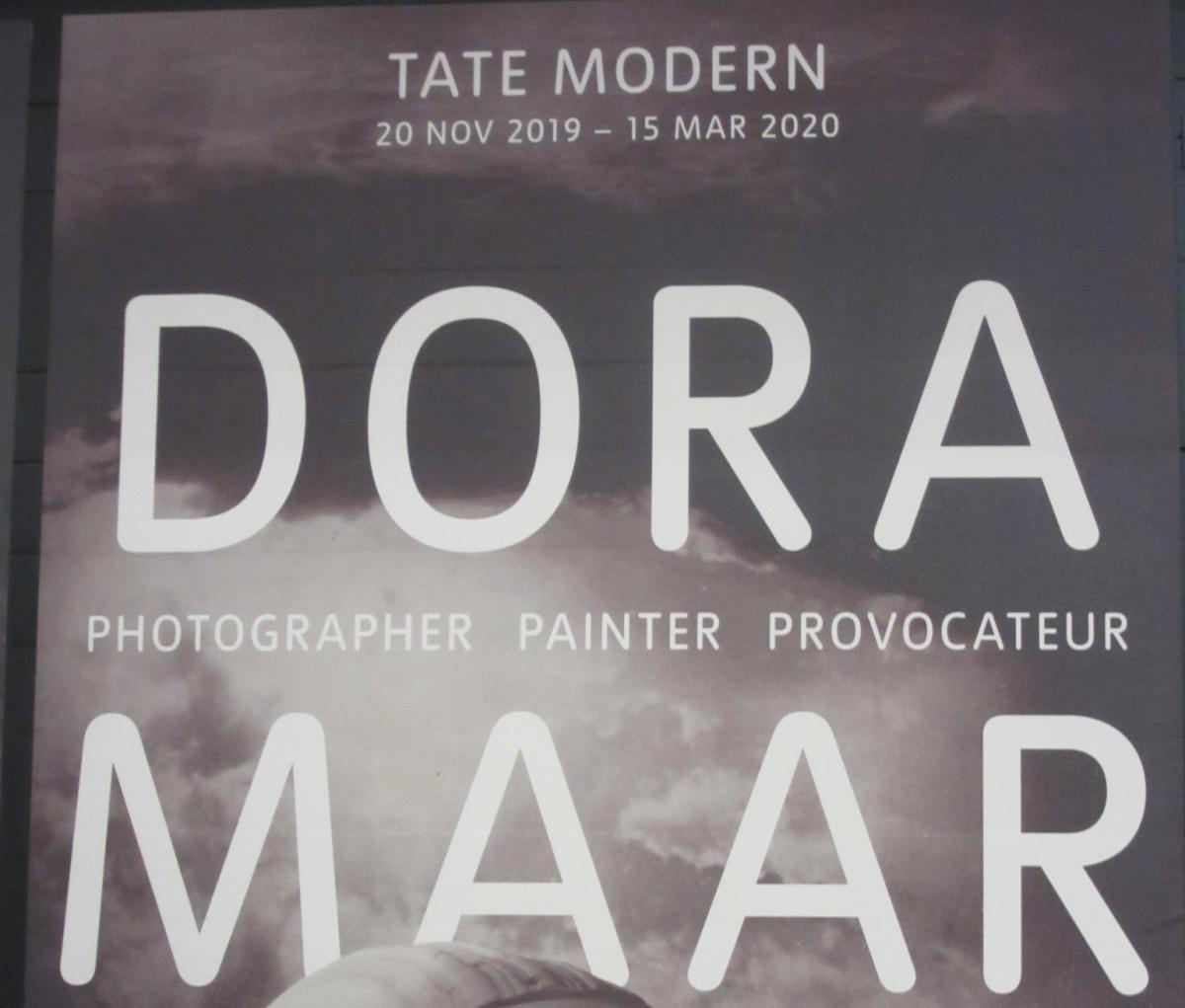 Exposició Dora Maar. Tate Modern des 2019