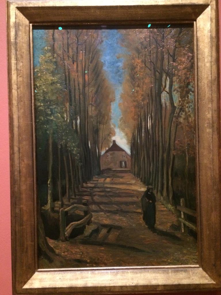 The Vincent Van Gogh. Avenue of Poplars in Autumm. 1984