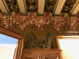 Casa Vicens. Antoni Gaudí. Detall ornamentals d'interior