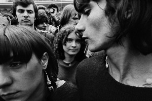 Rolling Stones concert, Hippodrome d'Auteuil, Paris, June 1982_©William Klein