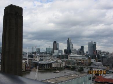 Vista sobre la City de Londres