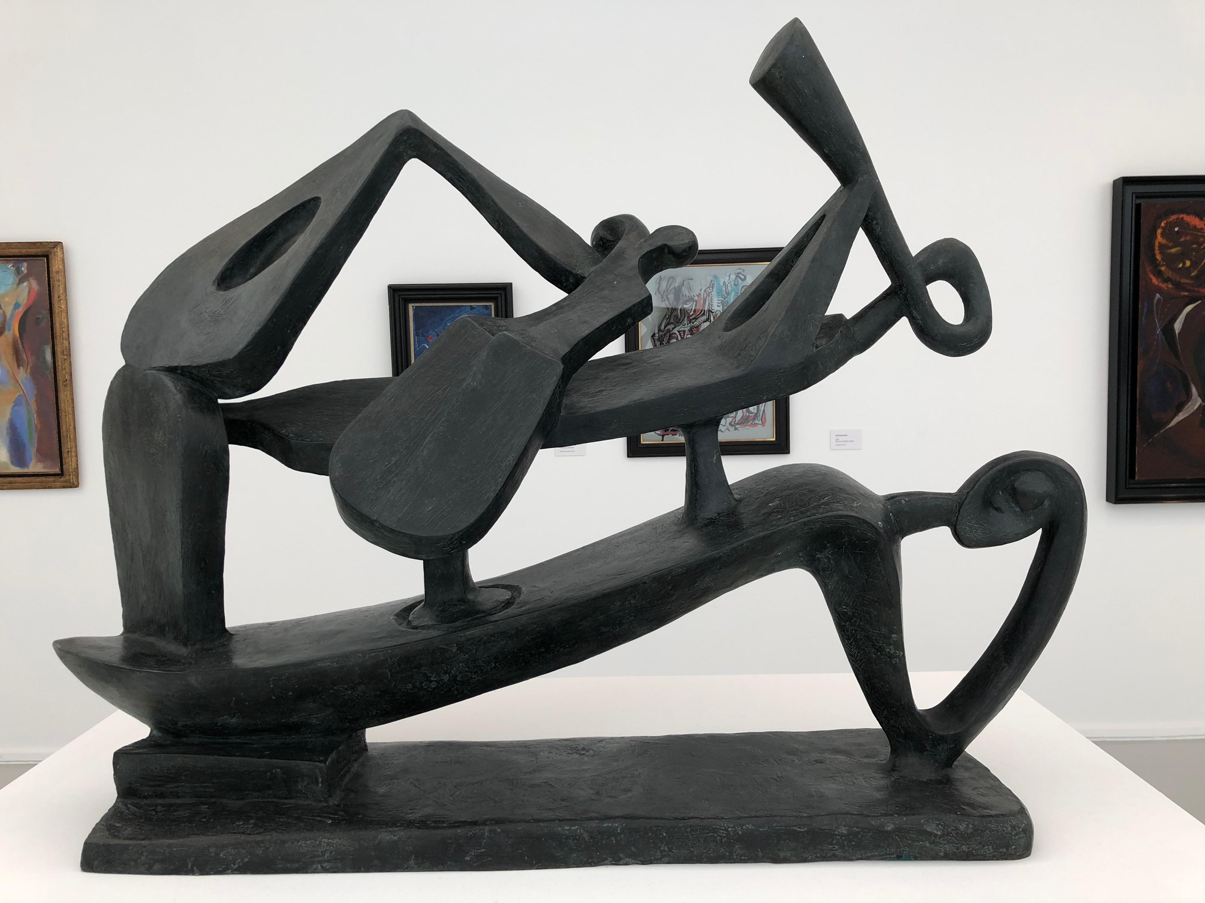 A. Masson. Musicienne. 1942