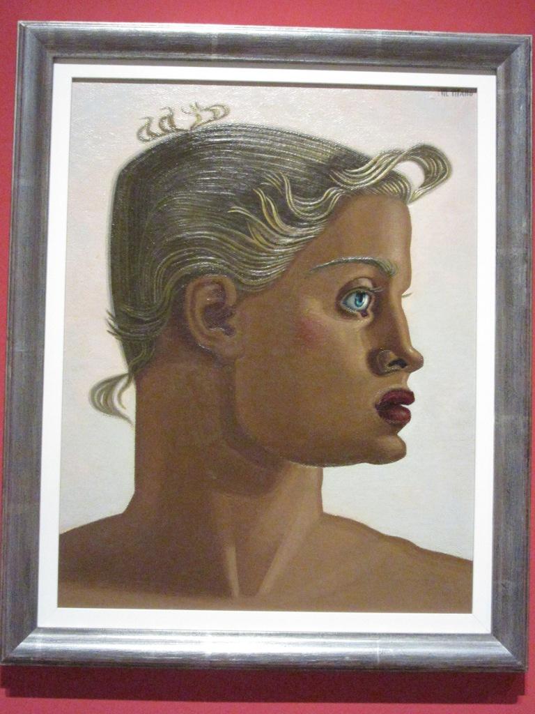 Maruja Mallo. Oro. 1951. Museo Thysen Málaga