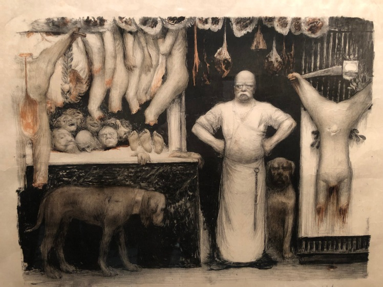 Jean Veber. La carnisseria. 1897