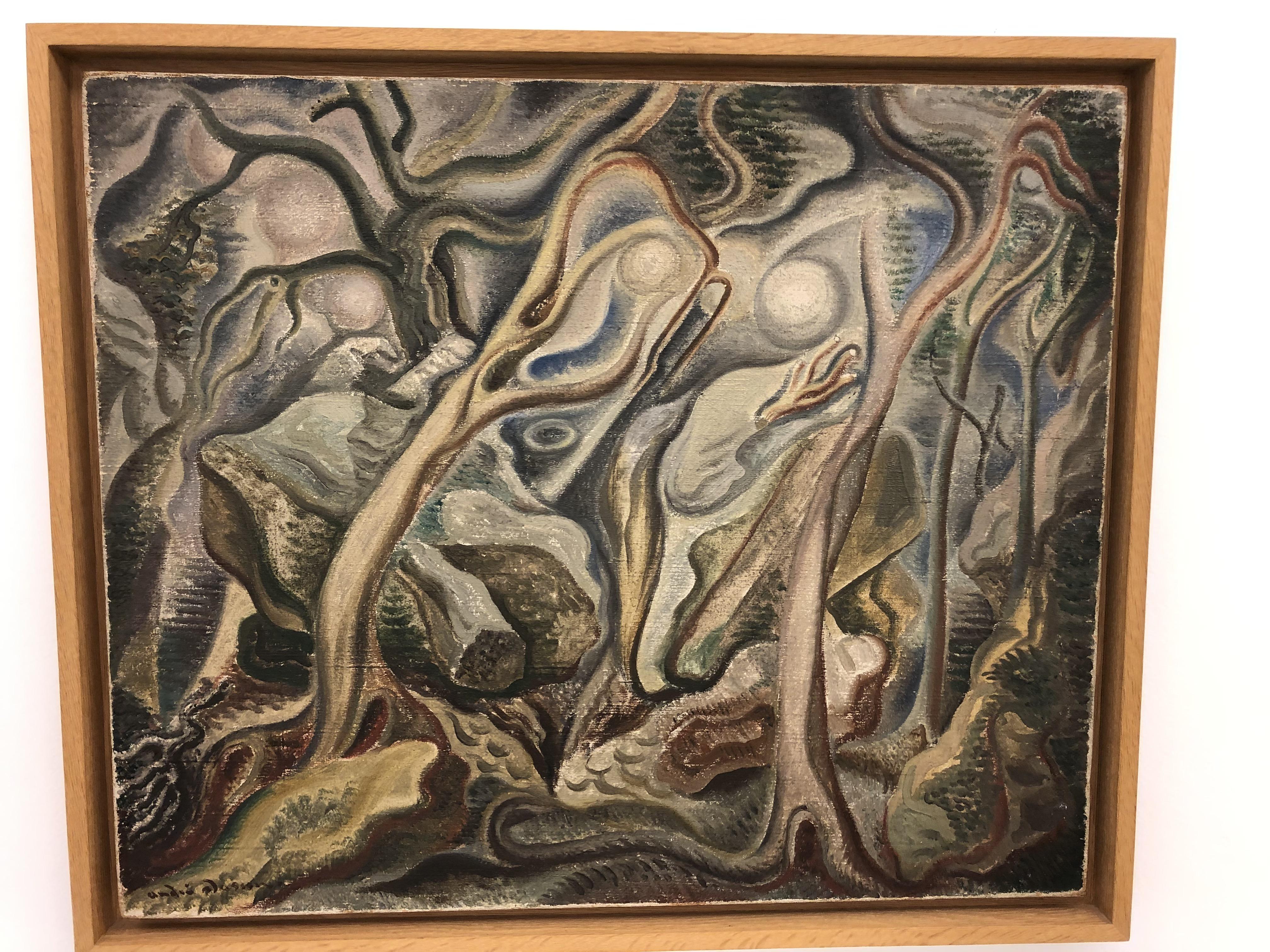 A. Masson. L'orage. 1924