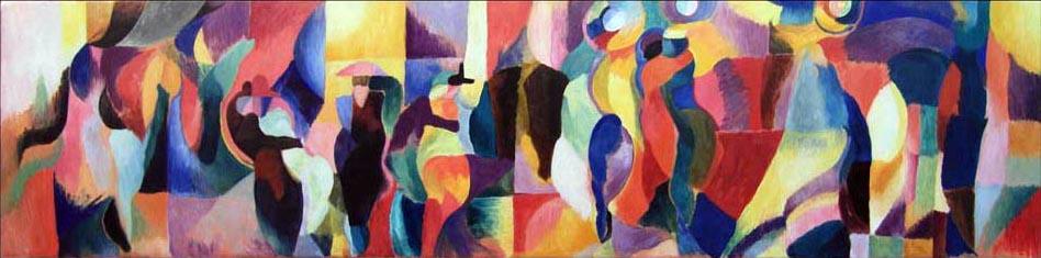 Le Bal Bullier. Sonia Delaunay. 1913