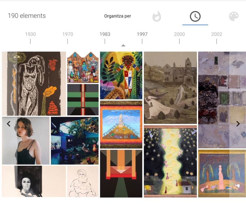 NMWA. Google Arts & Culture. Cronograma