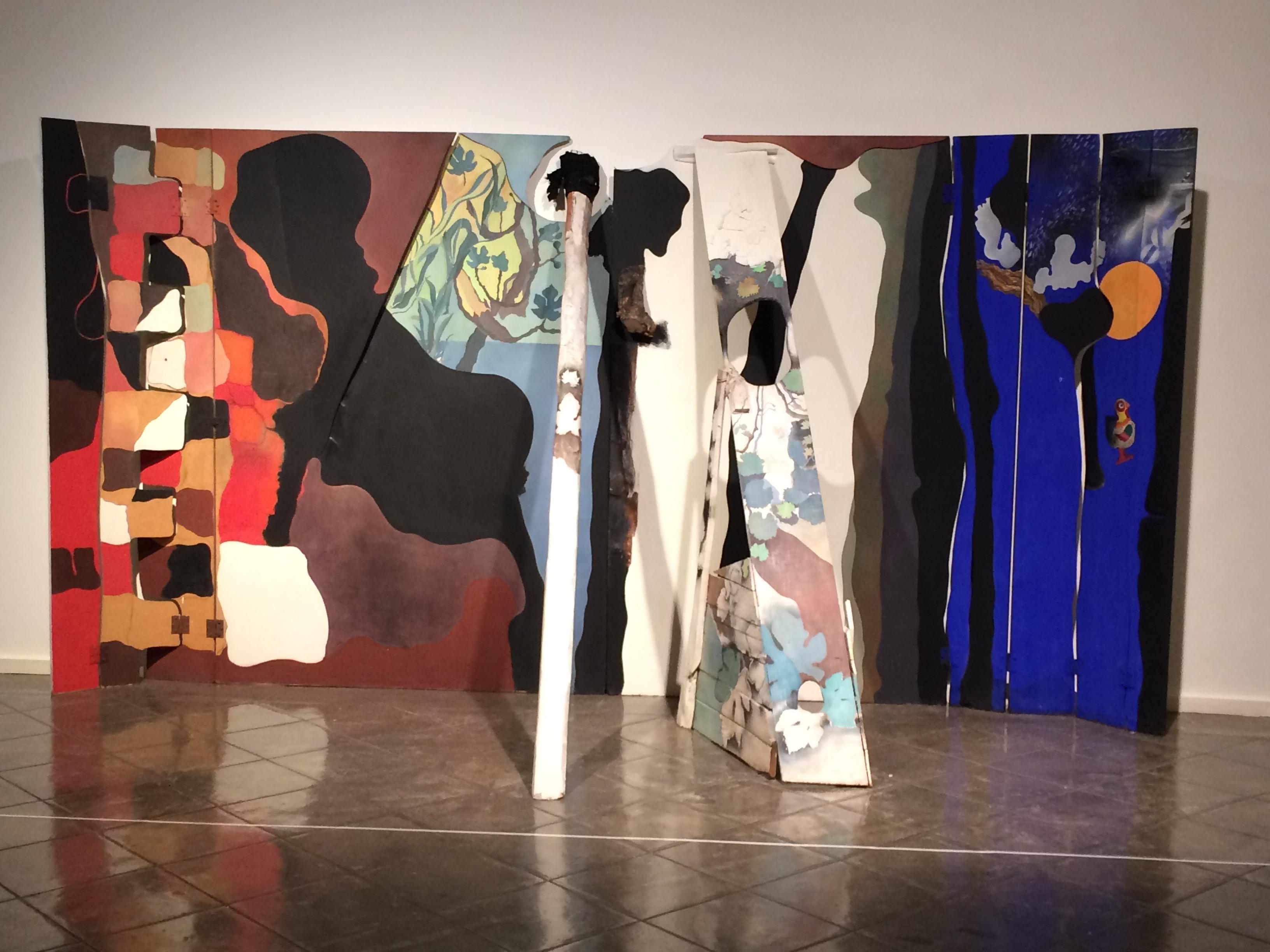 Josep Guinovart. Escenografia per un espectacle de La Chunga