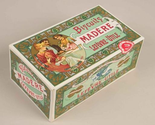 Alphonse Mucha. Envoltori Biscuits Madère