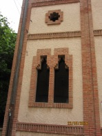 Façana Centre cultural. Colònia Güell