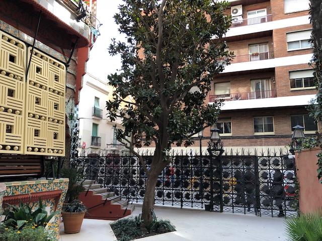 Casa Vicens. Antonio Gaudí. Valla de ferro forjat