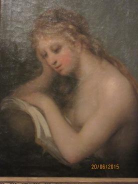 Magdalena penitente. Goya