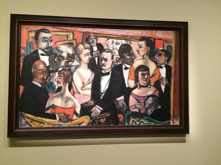 Max Beckmann. Societat, París. 1931