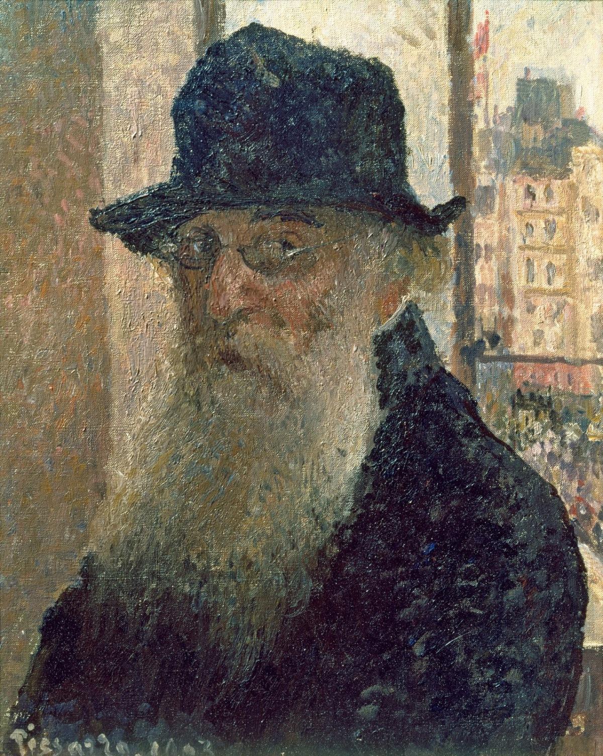 Autorretrat Camille Pissarro