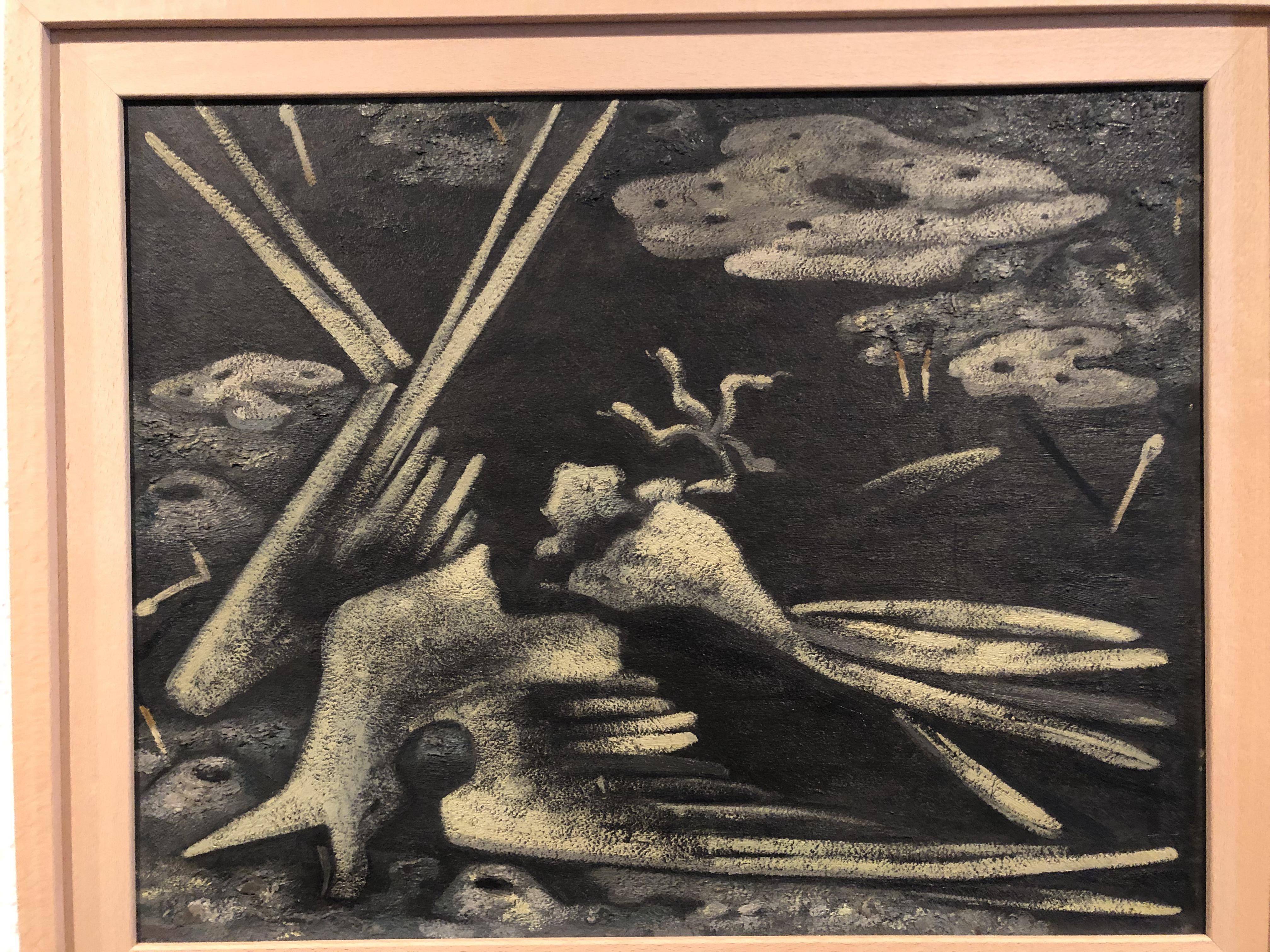 Maruja Mallo. Grajo y excrementos. 1931