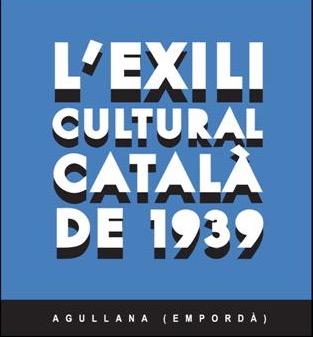Cartell L'Exili cultural català 1939