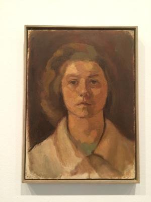 Primer autoretrat. 1942