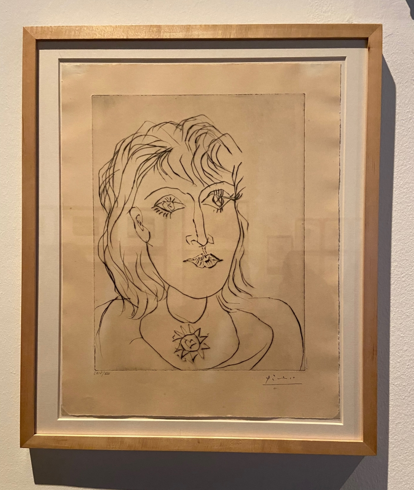Pablo Picasso. Dora Maar amb collar. 1937. Museu Picasso Barcelona.