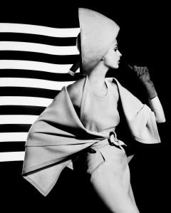 Dorothy + white light stripes, Paris 1962_©William Klein