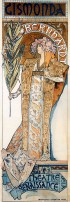 Alfons Mucha. 1894. Gismonda