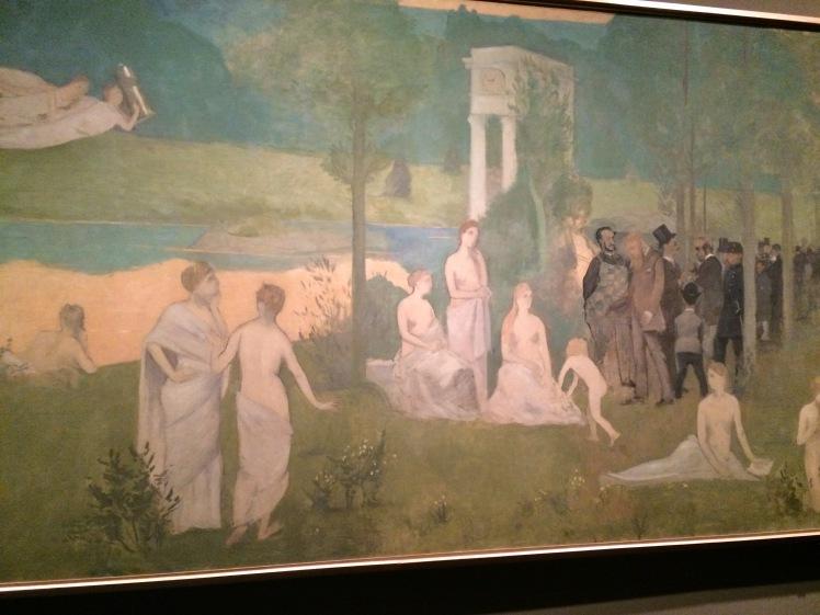 Toulouse-Lautrec. El bosc sagrat. 1884