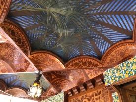 Casa Vicens. Antoni Gaudí. Glorieta