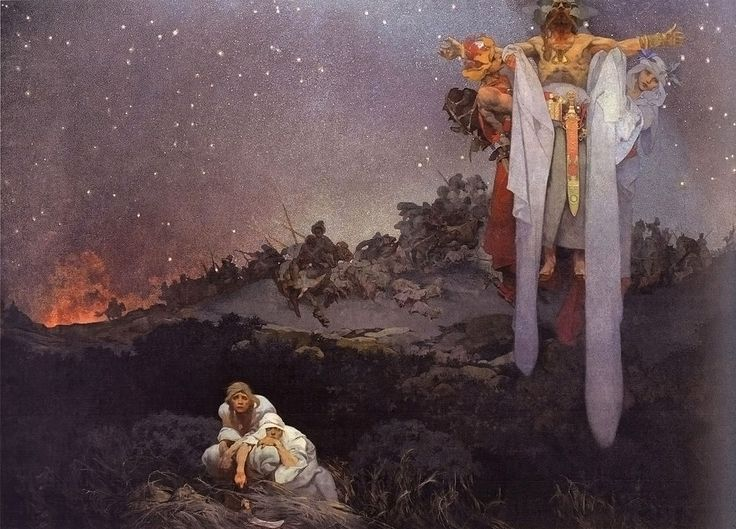 Alphonse Mucha. Epopeia eslava