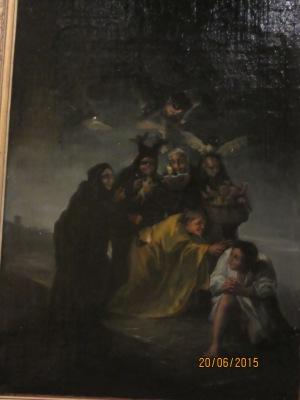 El conjuro o las brujas. Goya