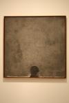 Forma negre sobre quadrat gris. 1960