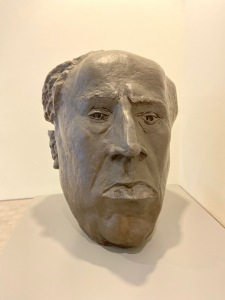 Pablo Serrano. interpretacic3b3n-al-retrato-de-antonio-machado-1984.-1