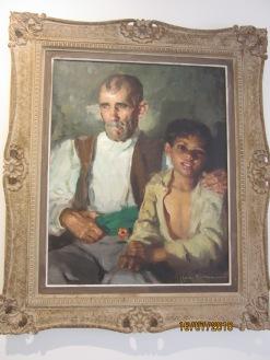 El abuelo y el niño. Cruz Herrera