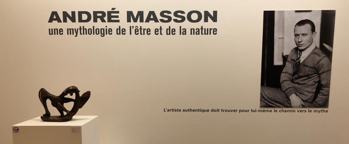 André Masson.Une mythologie de l'être et de la nature. Museu deCéret