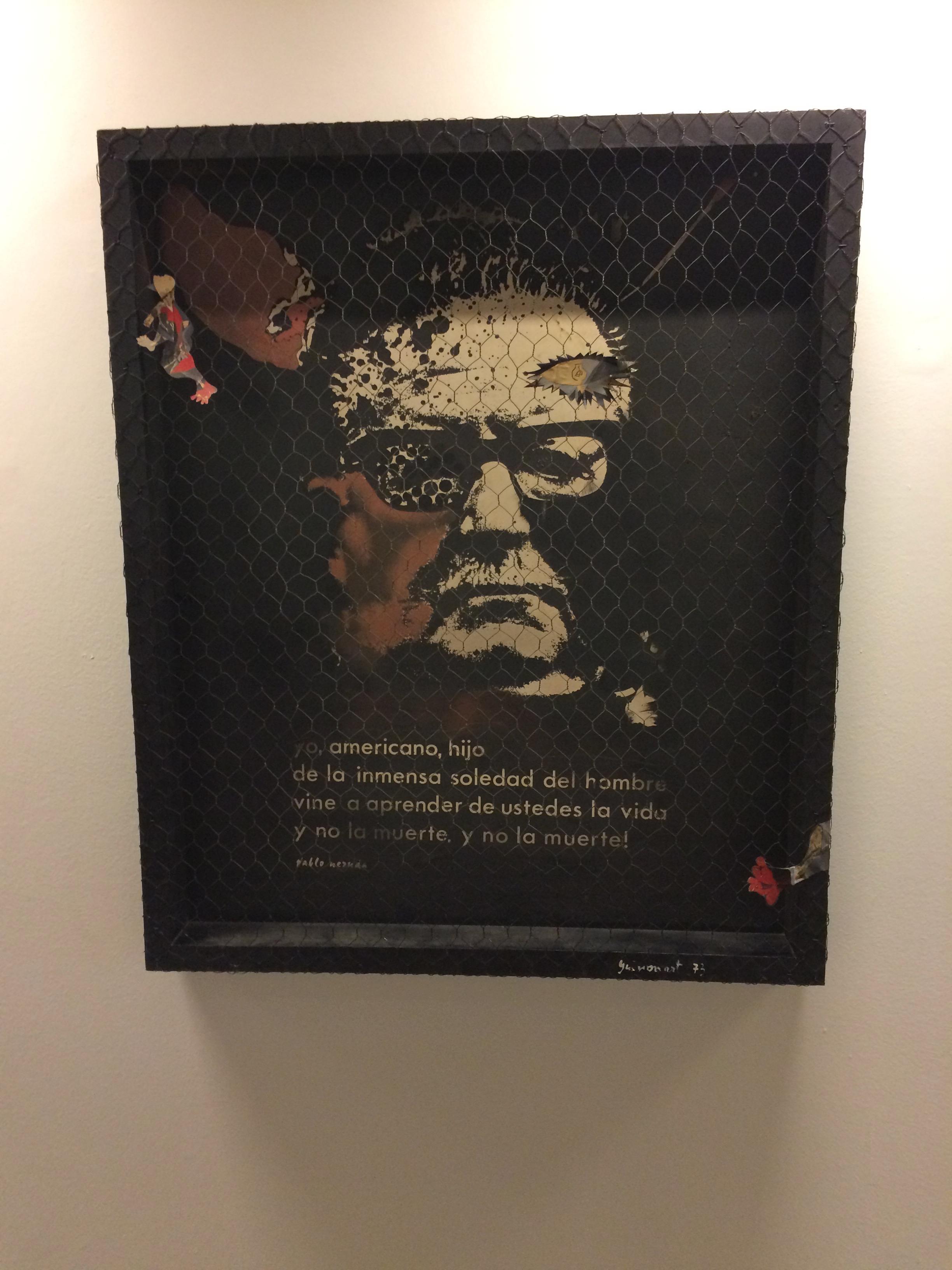 Josep Guinovart. Homenatge a Allende, 1973