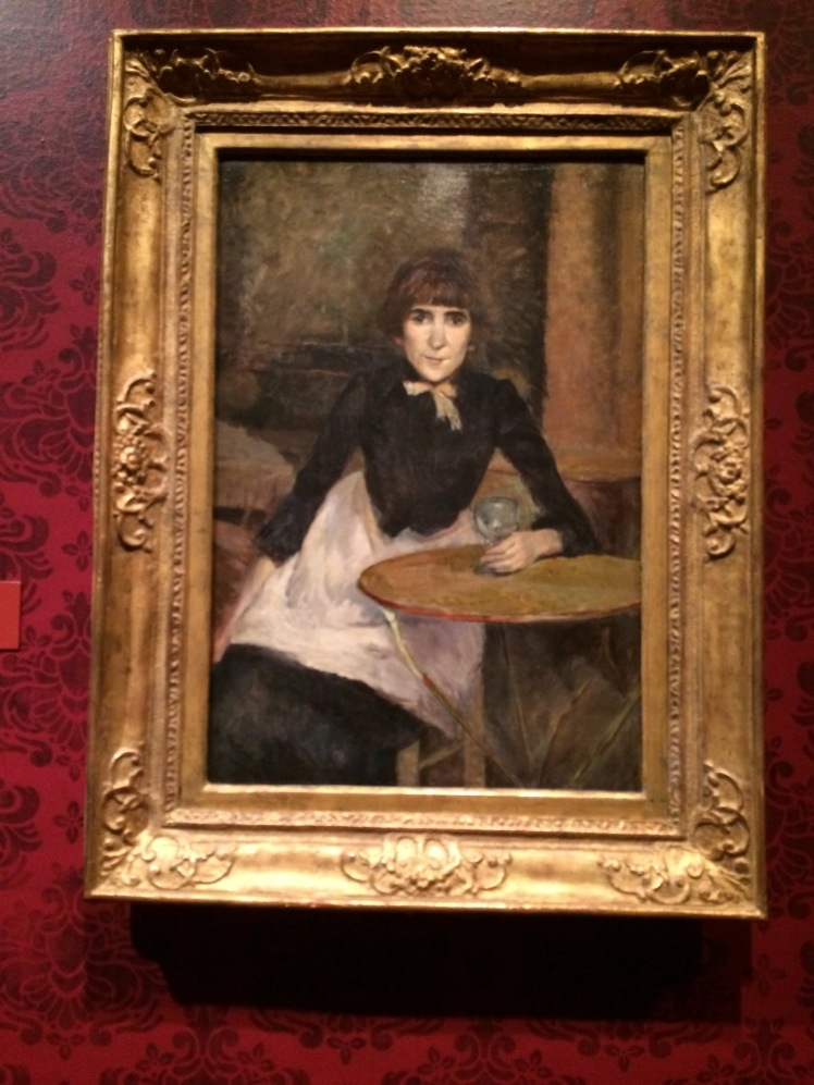 Toulouse-Lautrec. A la Bastille (Jeanne Wenz), 1888