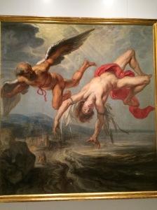 La caiguda d'Icar. Jacob Peter Gowy 1636_1637