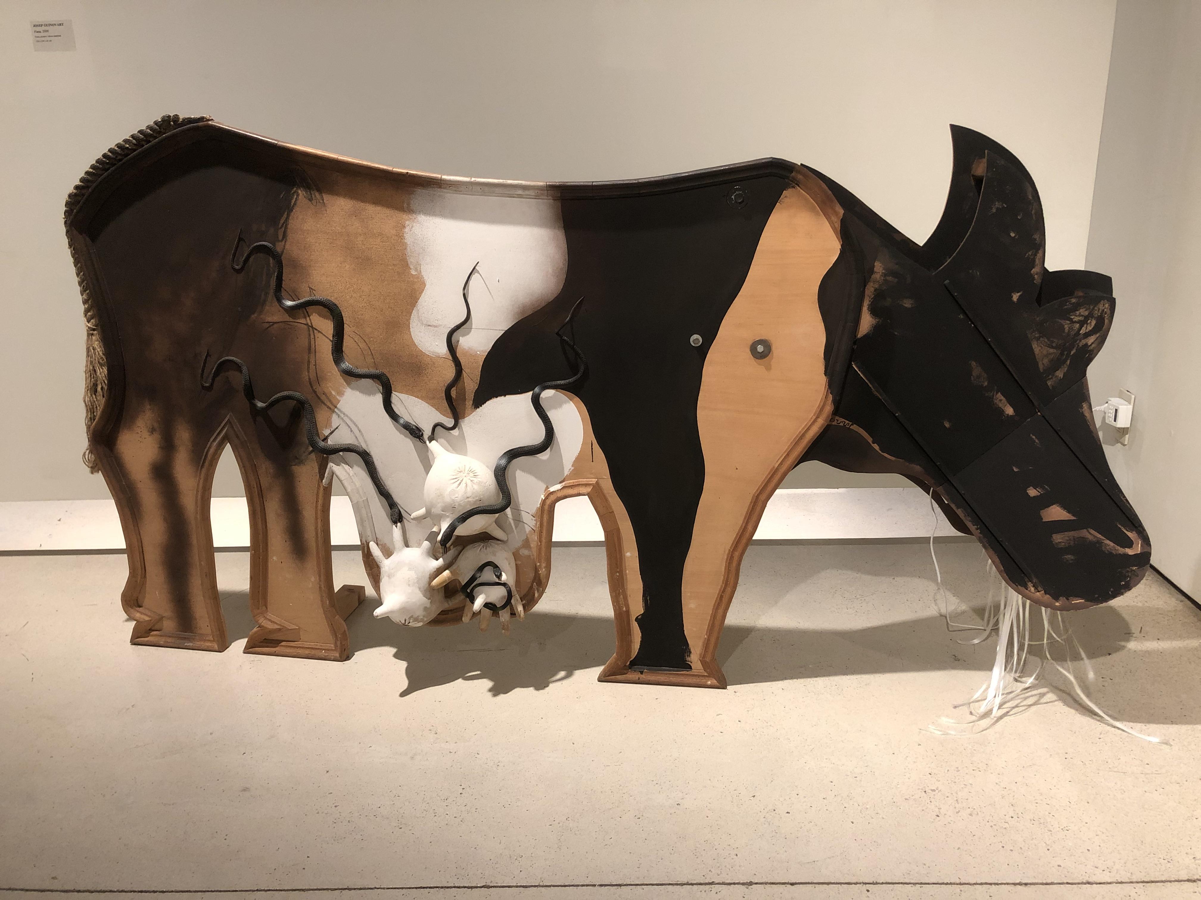 Josep Ginovart. Vaca.2000