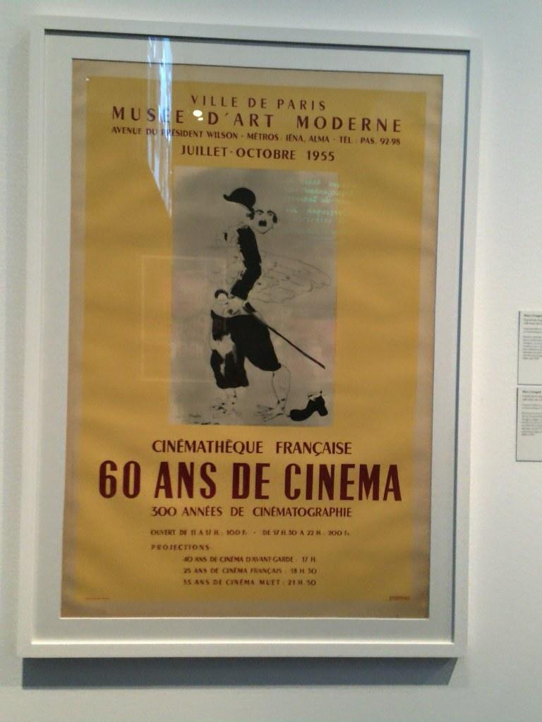 Cartell: pintura Marc Chagall